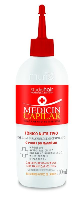 Tônico Nutritivo Medicin Capilar 100ml - Muriel