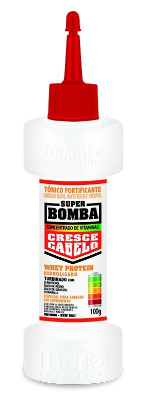 Tônico Fortificante Cresce Cabelo Whey Protein 100g - Muriel