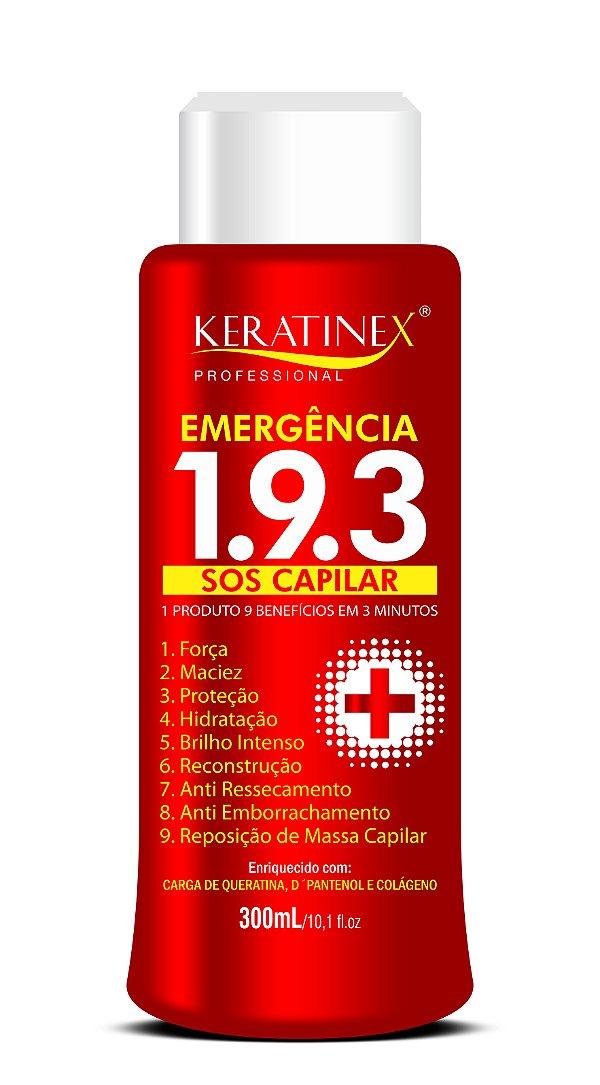 Emergência 193 SOS Capilar 300 ml - Keratinex
