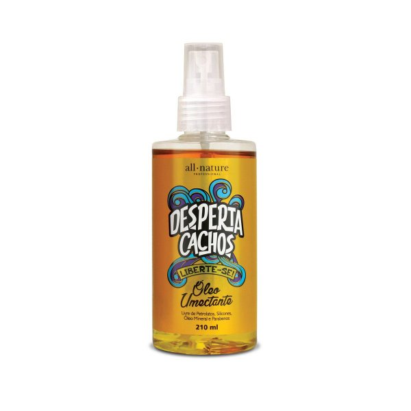 Óleo Umectante Desperta Cachos 210ml - All Nature