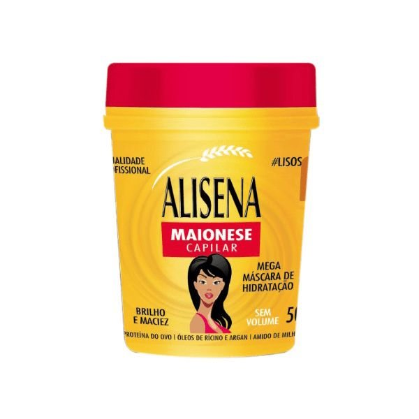 Máscara Alisena Maionese Capilar 500g - Muriel