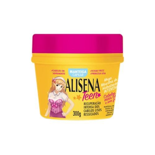 Máscara Alisena Teen Manteiga Capilar 300g - Muriel
