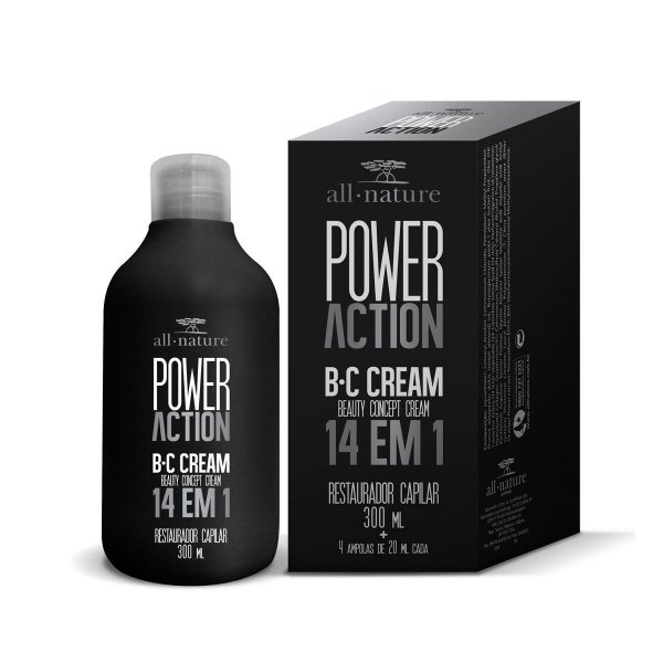 SOS Capilar Power Action Bc Cream 14 em 1 300ml All Nature