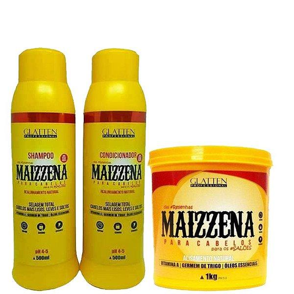 glatten-maizzena-kit-alisamento-natural-com-mascara-de-1kg