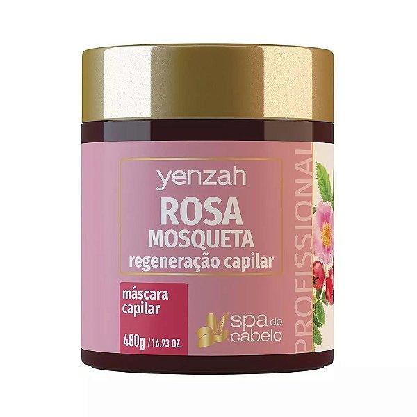 Máscara Capilar de Rosa Mosqueta 480g Yenzah