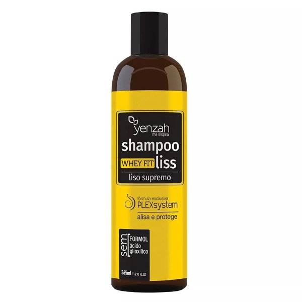 Shampoo Alisante Fit Liss Liso Supremo  365ml Yenzah
