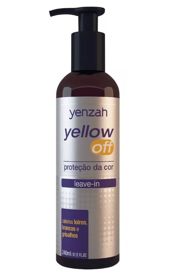 Leave-in Yellow Off  240ml Yenzah