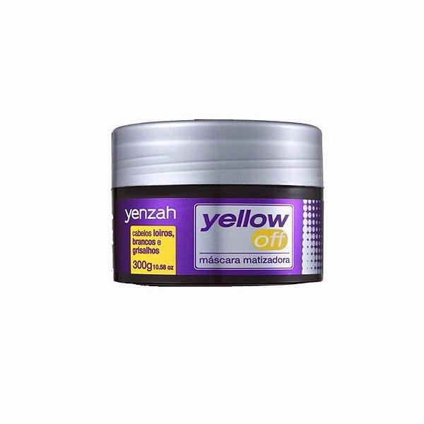 Máscara Matizadora Yellow Off 300g Yenzah