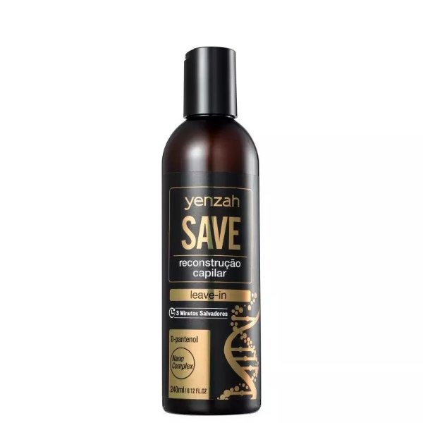 Yenzah Save reconstrução capilar Leave-in 240ml