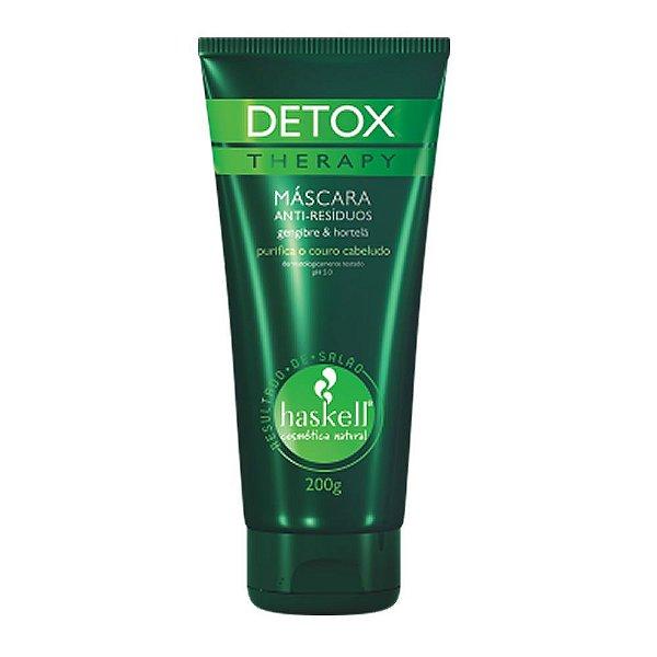Máscara Anti-esíduos Detox Therapy 200ml Haskell