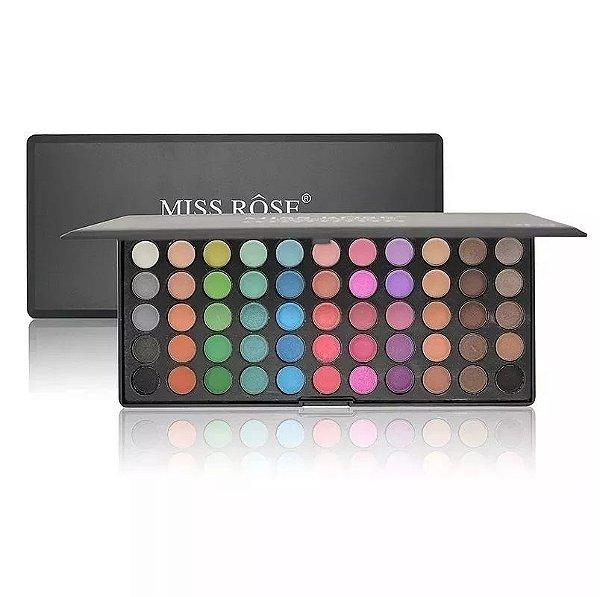 Miss Rose Paleta de Sombras mate 55 Cores 491 my
