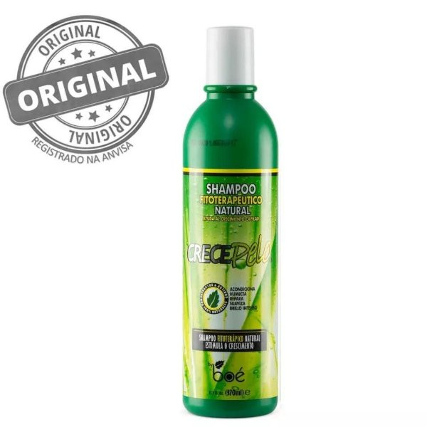 Boé Cosmetics CrecePelo Shampoo Natural 370ml