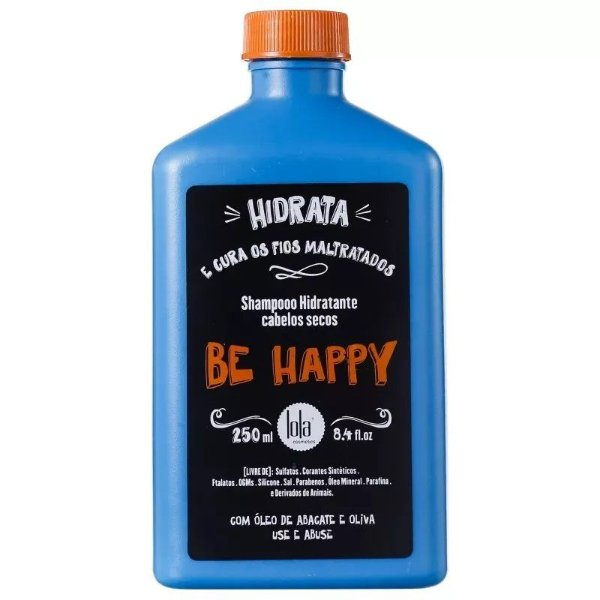 Lola Cosmetics Be Happy Shampoo sem Sulfato 250ml