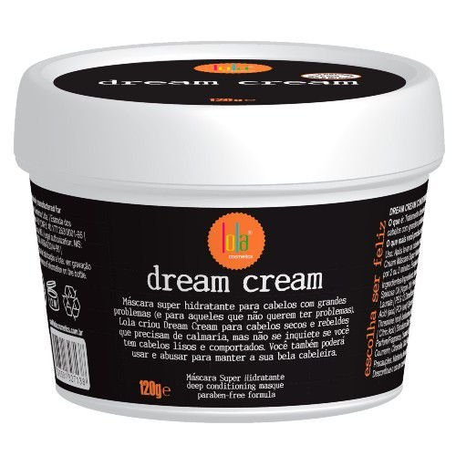 Máscara Super Hidratante Dream Cream 120g Lola Cosmétics