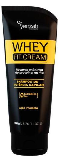 Shampoo Potência Capilar Whey Fit Cream  200ml - Yenzah