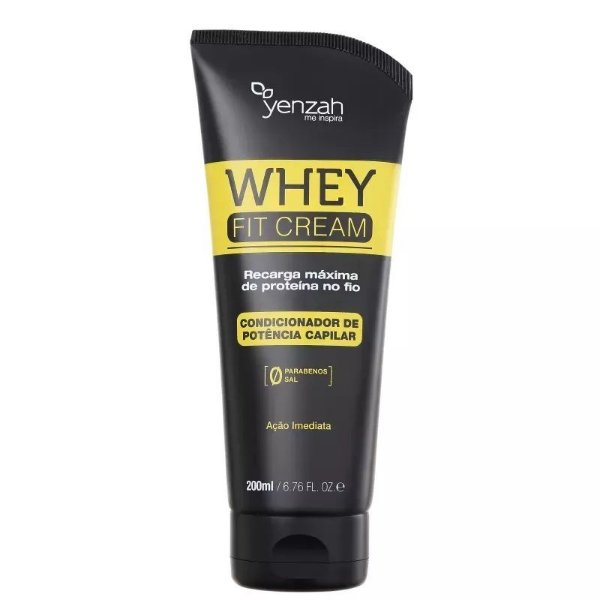 Yenzah Power Whey Fit Cream Potência Capilar Condicionador