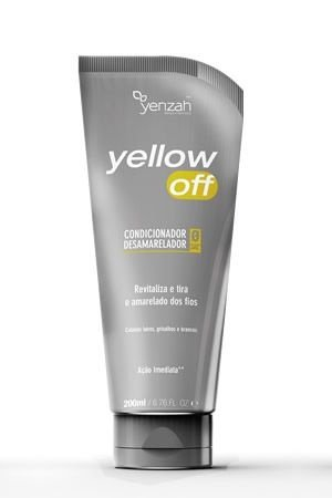 Condicionador Desamarelador Yellow Off 200ml - Yenzah