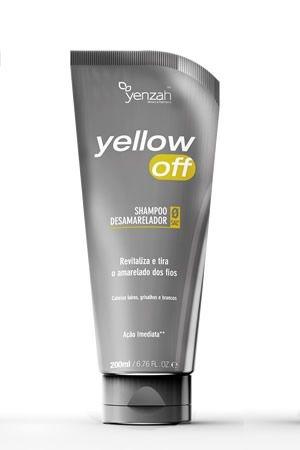 Shampoo Desamarelador Yellow Off 200ml - Yenzah