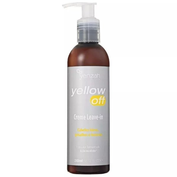 Yenzah Yellow Off  Creme Leave-in 240ml
