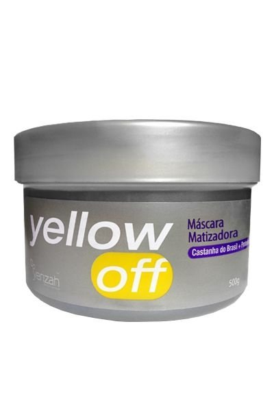 Máscara Matizadora  Yellow Off  500g - Yenzah