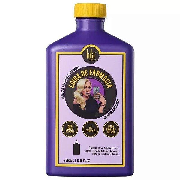 Lola Cosmétics Loira de Farmácia Shampoo Matizador 250ml
