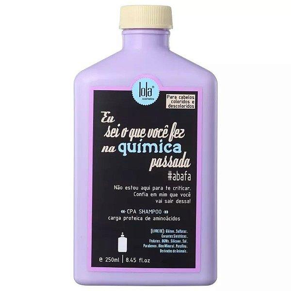 Lola Eu Sei O Que Você Fez Na Química Passada Shampoo 250ml