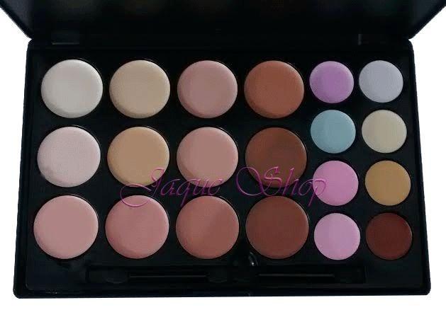 Paleta de Corretivos com 20 cores BellaFemme BF10029