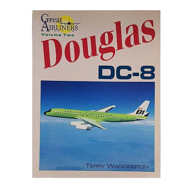 LIVRO DOUGLAS DC-8 DE 1996