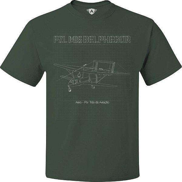 CAMISETA AERO - PZL M15 BELPHEGOR - COLEÇÃO LIMITADA