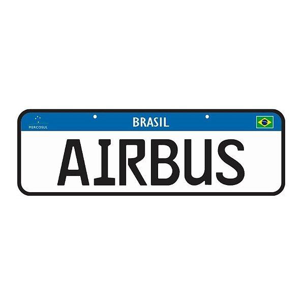PLACA JU HELPS - AIRBUS