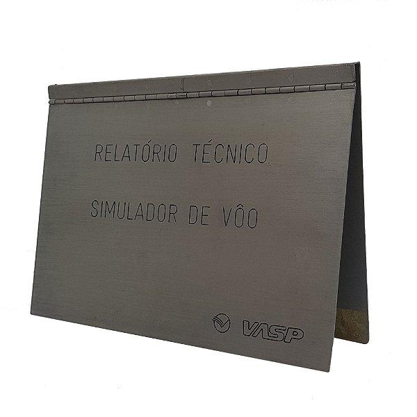 CAPA DE RELATÓRIO TÉCNICO VASP