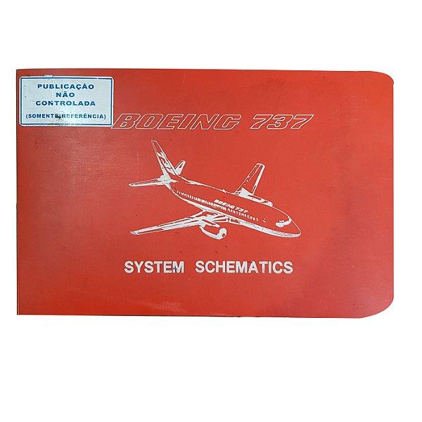 MANUAL VASP - BOEING 737 SYSTEM SCHEMATIC CAPA LARANJA