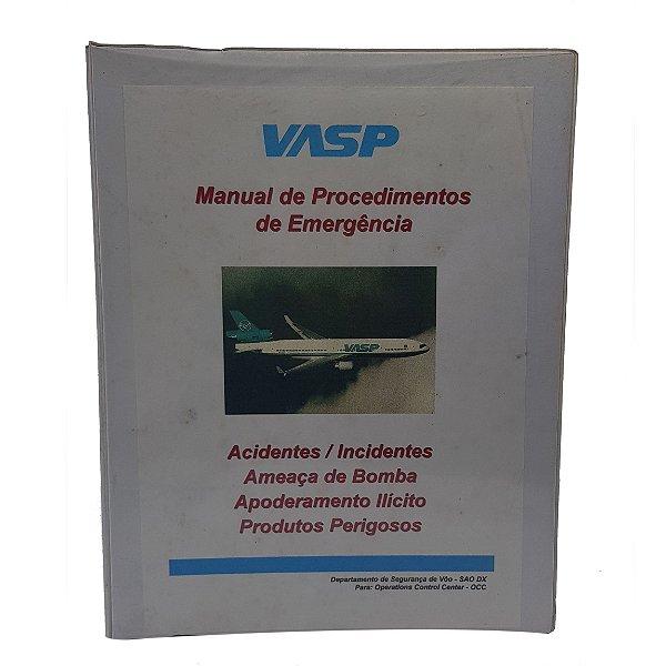 MANUAL VASP - PROCEDIMENTOS DE EMERGÊNCIA