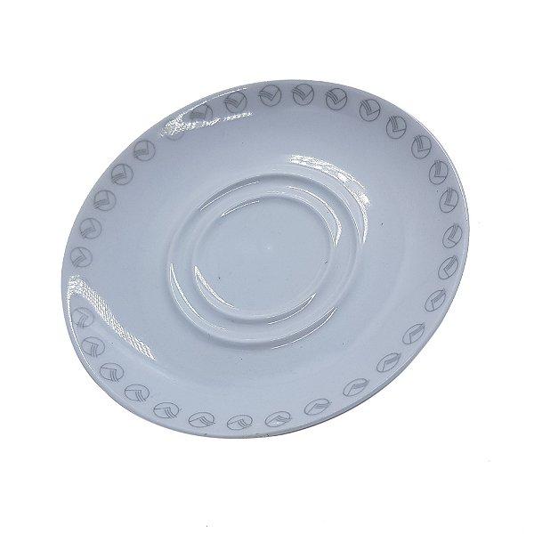 Pires de Porcelana para Chá com Logo da VASP