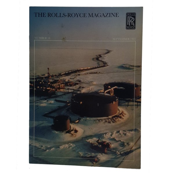 Revista Rolls Royce Setembro de 1983