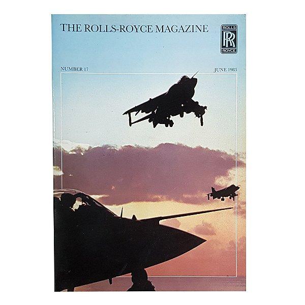 Revista Rolls -Royce Junho de 1983