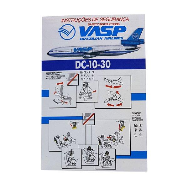 Cartão de Segurança DC-10