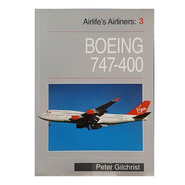 LIVRO BOEING 747-400 DE 1998