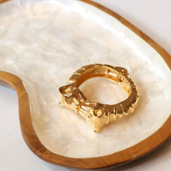 Bracelete Tigre Golden - Dourado
