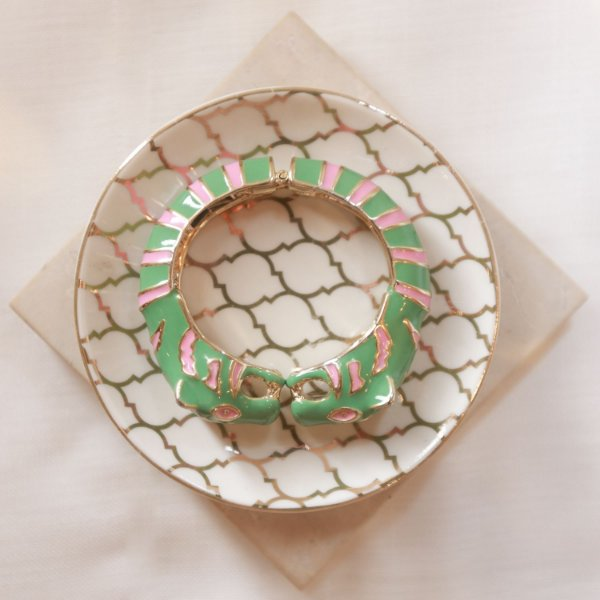 Bracelete Tigre Max Maria - Menta e Rosa