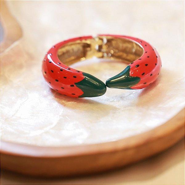 Bracelete Fruité Max Maria - Morango