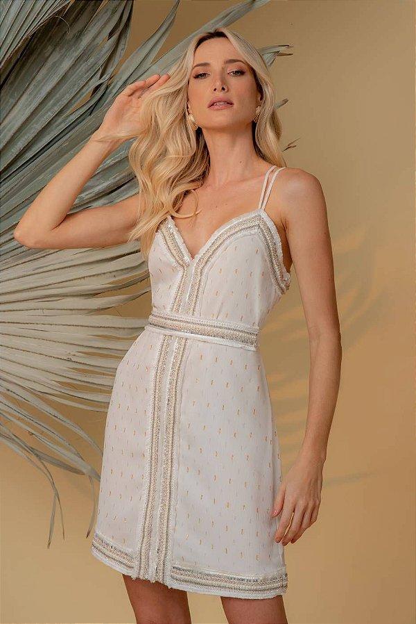 Vestido Aurora - OFF WHITE
