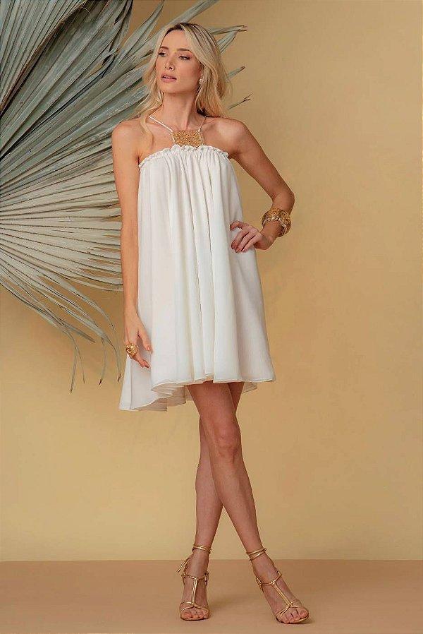Vestido Afrodite - OFF WHITE