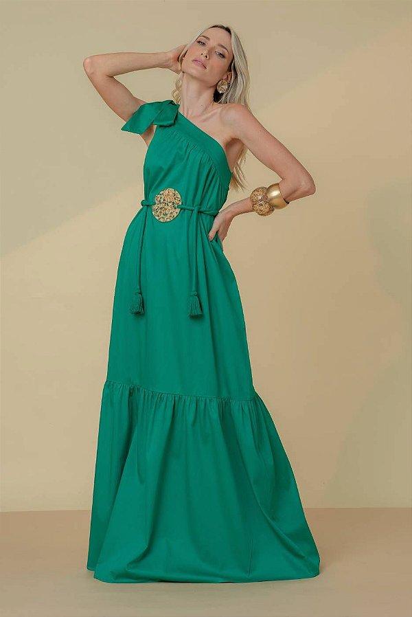 Vestido Longo Gaia - VERDE