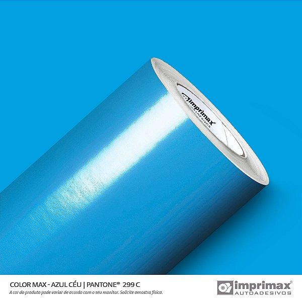 Adesivo Color MAX Azul Céu  (Largura 1m) - VENDA POR METRO