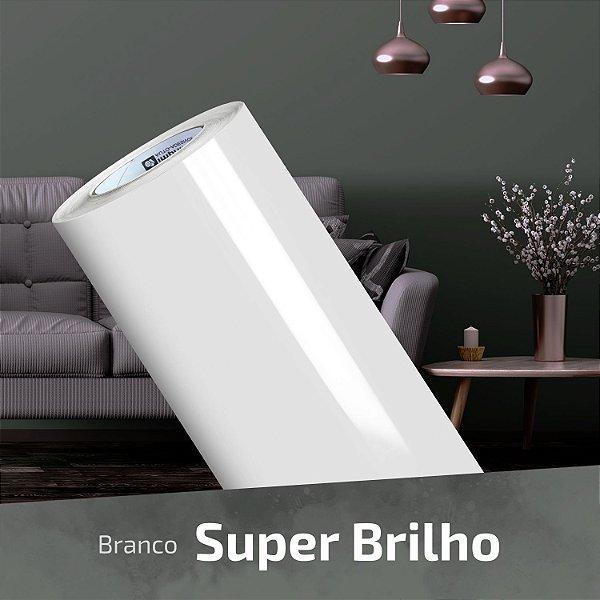 Adesivo DIGIMAX Branco Alto Brilho Laca (Rolo 5m x 1,06m)
