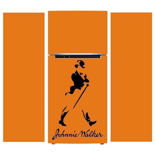 Adesivo de Geladeira Johnnie Walker - KIT COMPLETO