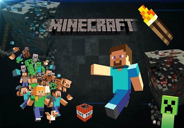 Adesivo de Parede - Minecraft 3