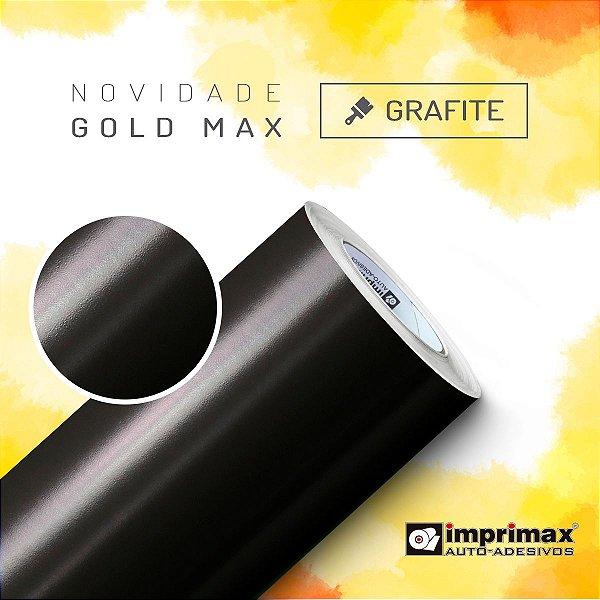 Adesivo Gold MAX Grafite  (Largura 1,22m) - VENDA POR METRO