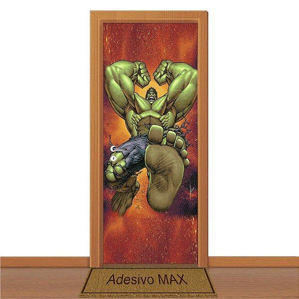 Adesivo de Porta - Hulk